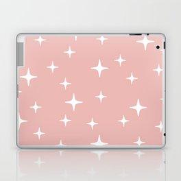Mid Century Modern Star Pattern 443 Dusty Rose Laptop & iPad Skin