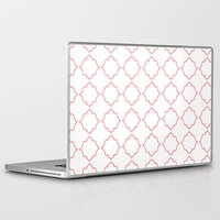 moroccan Laptop & iPad Skins featuring Moroccan Coral by Jenna Mhairi