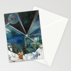Exploration: Coral Stationery Cards