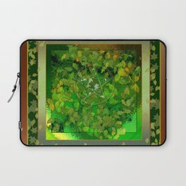 Leaf Ghosted Pentacle Laptop Sleeve