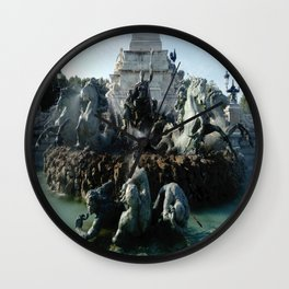 Monument aux girondins 3 Wall Clock