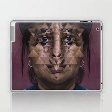 Glitch Portrait #1 Laptop & iPad Skin