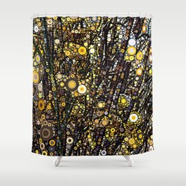 Forsythia in Bloom Shower Curtain