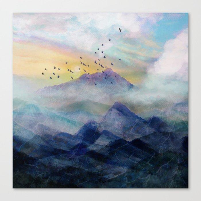 Mountain Sunrise Leinwanddruck