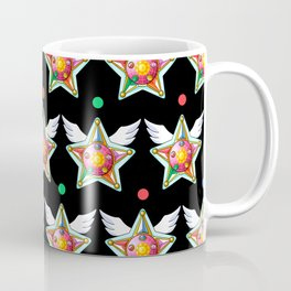 Star Yell Brooch Coffee Mug