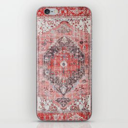 Vintage Anthropologie Farmhouse Traditional Boho Moroccan Style Texture iPhone Skin