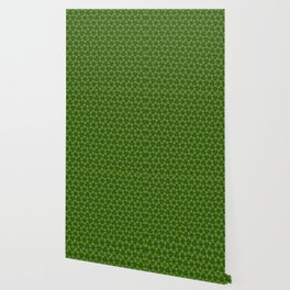 Green Molecules Wallpaper