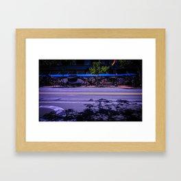 Market St. Eyes Framed Art Print