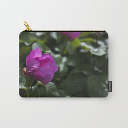 Woodland Peony Carry-All Pouch