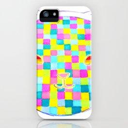Pixel Cat iPhone Case