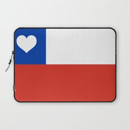 Texas State Flag with Heart Laptop Sleeve