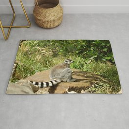 cute lemur Rug
