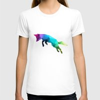 fox T-shirts featuring Glass Animal - Flying Fox by Three of the Possessed