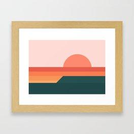 Sunseeker 08 Landscape Framed Art Print