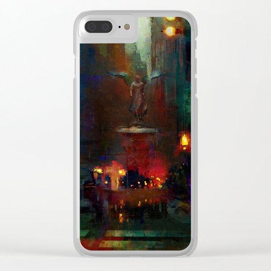 Bethesda Fountain Clear iPhone Case