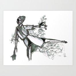 umbre Art Print