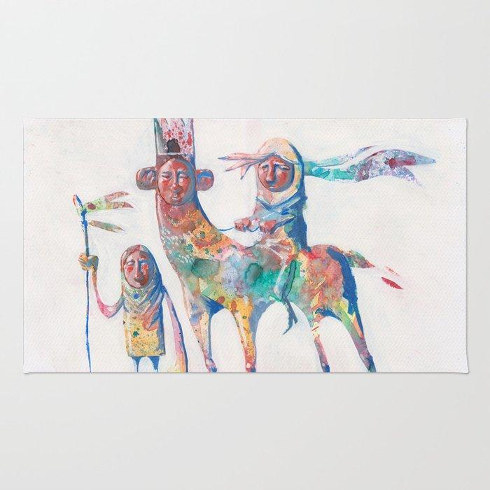 colour nomads Rug