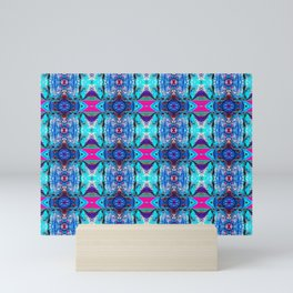 Psychedelic Snowscape Mini Art Print