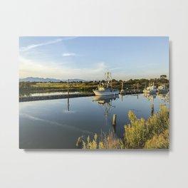 Garry Point Park - Boat - Richmond Metal Print