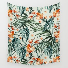Exotic flower nature-07 Wall Tapestry