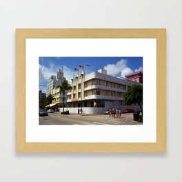 Miami Beach - Art Deco 2003 Framed Art Print