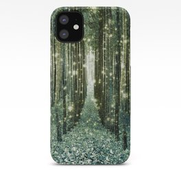Magical Forest Old Money Green iPhone Case