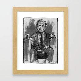 George W. Bush (former US President) Framed Art Print