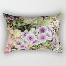 Vibrant Bouquet Rectangular Pillow