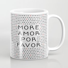 More Amor Black & Red Coffee Mug
