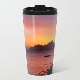 El Nido Sunset Travel Mug