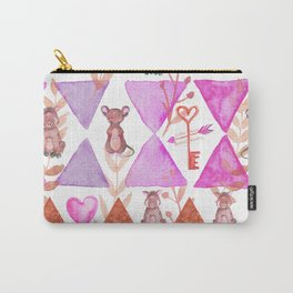 It's A Love Thang - Bagaceous Carry-All Pouch