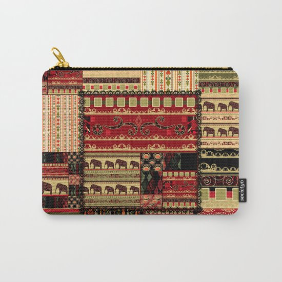 African patchwork. Carry-All Pouch