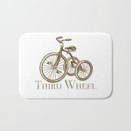 Third Wheel Bath Mat