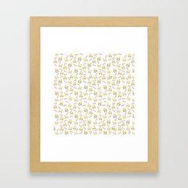 Lots of Cockatiels Framed Art Print