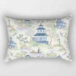 Chinoiserie Rectangular Pillow