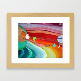 'conquest of paradise 2941' Framed Art Print