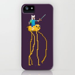 Pixel Time iPhone Case