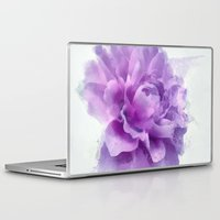 dahlia Laptop & iPad Skins featuring Dahlia by Ciro Design