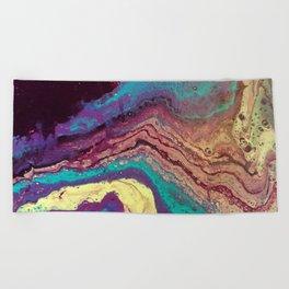 Geode Beach Towel