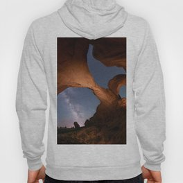 Double Arch in Arches National Park 2 Hoody