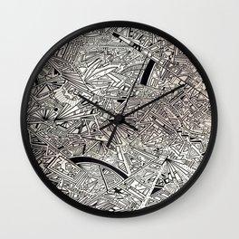 Geometric Explosion JL Wall Clock