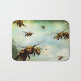Crown of Bees Bath Mat