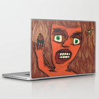 lawyer Laptop & iPad Skins featuring Sour Strawberries by Mister Groom