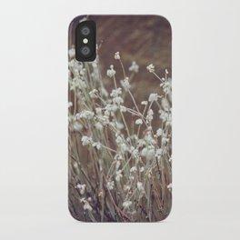 Rock Flowers iPhone Case