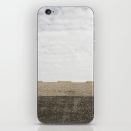 open road iPhone Skin