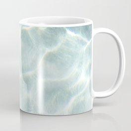 Light Marble Like Water - Shimmer Coffee Mug