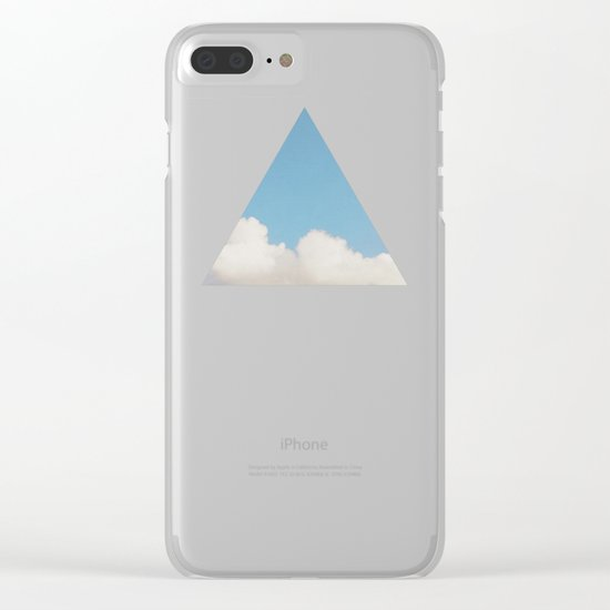 Changing Skies Clear iPhone Case