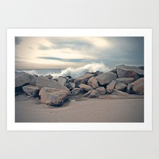 Wild Ocean Art Print