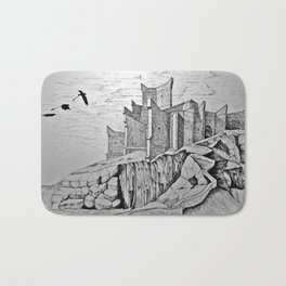 dragon castle Bath Mat