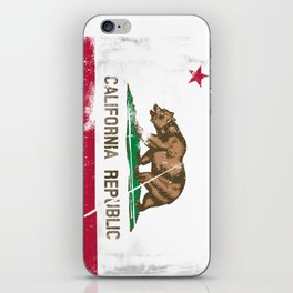 CALIFORNIA FLAG iPhone Skin